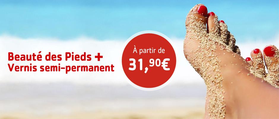 S'Thétique La Rochelle, beauté des pieds et vernis semi-permanent